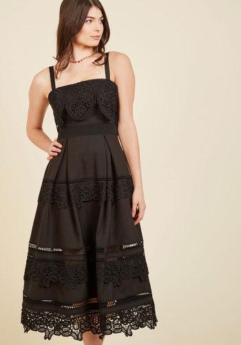 Immeasurable Magnificence Midi Dress