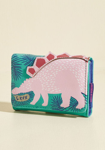 We Stego You, Please! Wallet by Disaster Designs - Critter Gifts, Under 50 Gifts, Unique Gifts, Green, Pink, Quirky, Critters