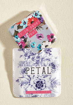 Take Your Pick-Me-Up Compact in Bright Blooms