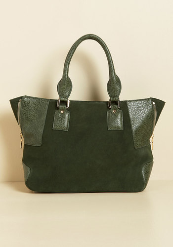 Your Focal Point Being? Bag - Green, Solid, Work, Casual, Winter, Better