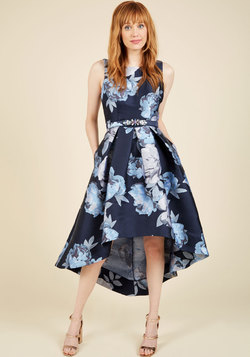 Enchanting Eloquence Floral Dress