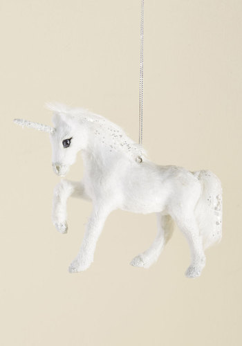 Forest to Arrive Ornament in Unicorn
