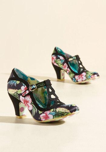 Shop Pin Up Shoes Pleasing Panache Heel $132.99 AT vintagedancer.com