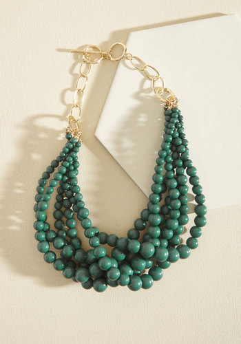 Burst Your Bauble Necklace in Forest