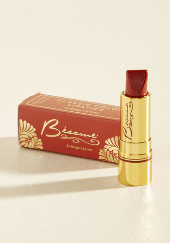 Rip-Roaring Radiance Lipstick in Red Velvet by Besame Cosmetics - Red, Party, Cocktail, Winter, Better, Stocking Stuffers, Under 25 Gifts, Valentine's