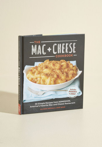 Mac & Cheese Cookbook - Multi, Good, Food, Handmade & DIY, Top Rated, Dorm Decor, Gifts2015, Black, Unisex Gifts, Under 25 Gifts, Unique Gifts, Cozy2015, Hostess