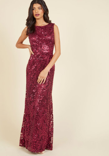 1940s Style Prom, Party, Cocktail Dresses Seen in Sequins Maxi Dress $229.99 AT vintagedancer.com