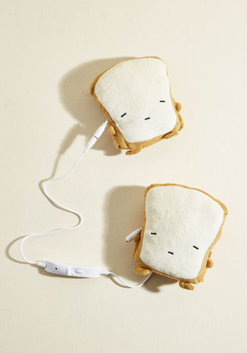 Crust Be Dreaming USB Hand Warmers - Brown, Cream, Solid, Kawaii, Graduation, Under 50 Gifts, Cozy2015, Unique Gifts