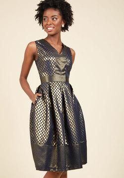 Savor the Spotlight A-Line Dress