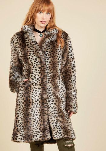 Retro Vintage Style Coats, Jackets, Fur Stoles Impact Assured Coat $199.99 AT vintagedancer.com