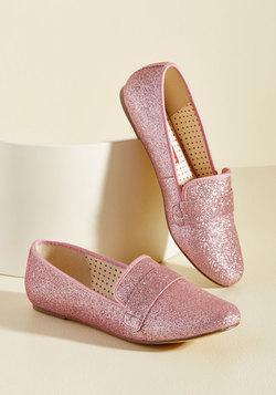 Third Shine's a Charm Loafer in Peony