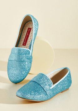 Third Shine's a Charm Loafer in Ice
