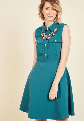 1960s Plus Size Dresses & Retro Mod Fashion Versatile Freestyling Shirt Dress $59.99 AT vintagedancer.com