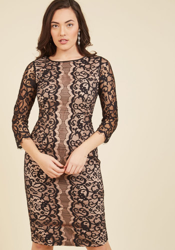 Dashing Done Well Lace Dress by Wendy Bird - Woven