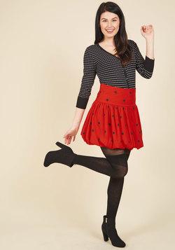 Bubble Standard Mini Skirt