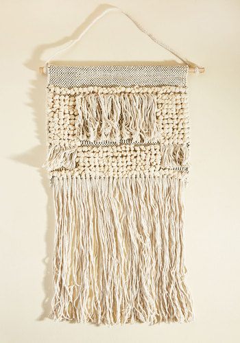 Woven-Hearted Wall Hanging