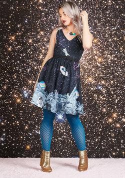 Take Up Space A-Line Dress