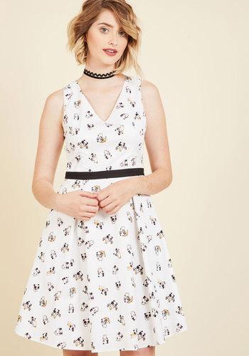 Panda Panache A-Line Dress
