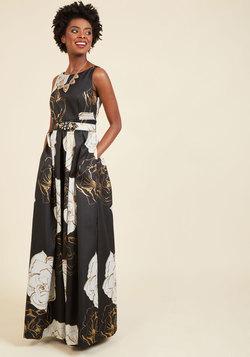 Glimmering Grandeur Maxi Dress