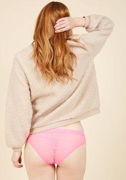 Dance It Out Panties in Flamingo
