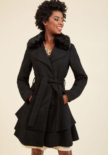 Retro Vintage Style Coats, Jackets, Fur Stoles Boast Your Toastiness Coat $199.99 AT vintagedancer.com