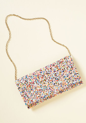 Palette Power Clutch - Multi, Beads, Party, Daytime Party, Winter, Exceptional