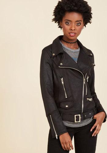 Retro Vintage Style Coats, Jackets, Fur Stoles Ponte Over Here Jacket $84.99 AT vintagedancer.com