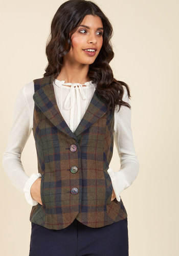 Steampunk Tops The Truth is Outerwear Vest $89.99 AT vintagedancer.com