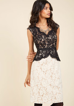 Courageously Clad Lace Dress
