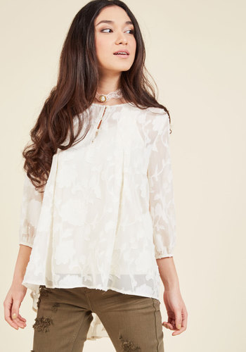 A Taste of Tranquility Floral Top