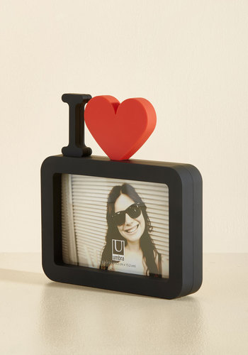 Close-Up to Heart Frame - Black, Red, Dorm Decor, Quirky, Graduation, Best Seller, Best Seller, Good, Valentine's, Under $20, Gifts2015, Unisex Gifts, Under 25 Gifts