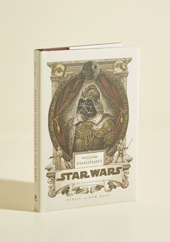 William Shakespeare's Star Wars - Good, Sci-fi, Top Rated, Pop Culture Gifts, Cosmic Gifts, Unisex Gifts, Under 25 Gifts, Unique Gifts