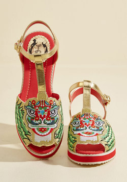 May I Have This Lion Dance? Sandal