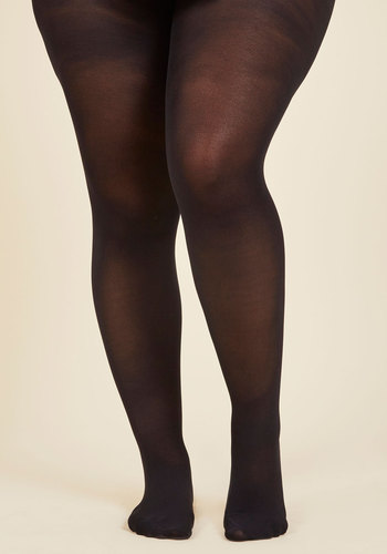 City Vivacity Tights in Black - Extended Size - Black, Solid, Special Occasion, Prom, Wedding, Party, Work, Casual, Cocktail, Girls Night Out, Daytime Party, Graduation, Bridesmaid, Homecoming, Wedding Guest, Minimal, Spring, Summer, Fall, Winter, Sheer, Better, Variation, Black, Black