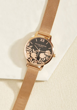 Gild With Love Watch in Rose Gold