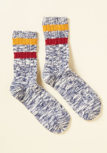 Take It From the Mountaintop Socks