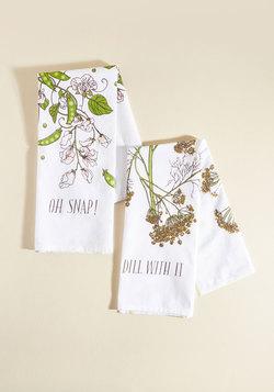 Are We Having Pun Yet? Tea Towel Set