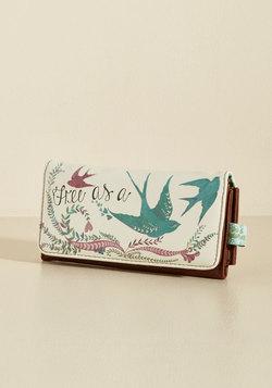 Girl Meets Voyage Wallet
