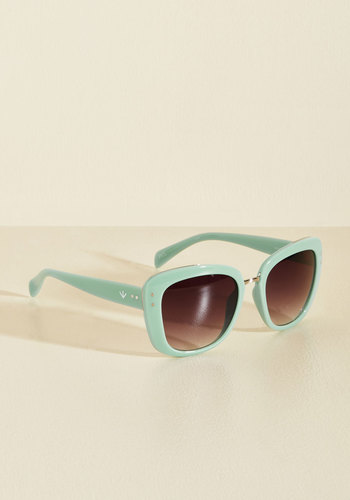 Get Your Sunnies Worth Sunglasses by PERVERSE sunglasses - Mint, Solid, Casual, Daytime Party, Beach/Resort, Winter, Plastic, Best, Spring, Store 1