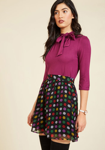 You're Fun-Believable Mini Skirt