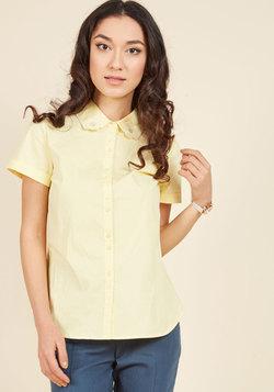 Homegrown Hobbyist Button-Up Top
