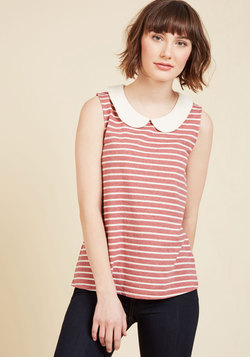 Everyday Fave Tank Top in Red