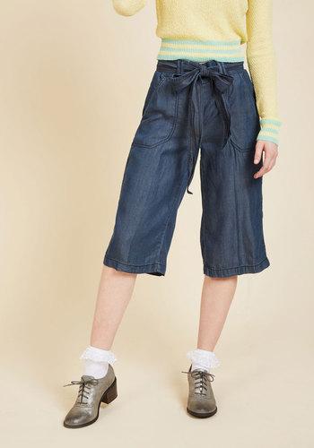 1950s Shorts History Culotte Your Jets Pants $49.99 AT vintagedancer.com