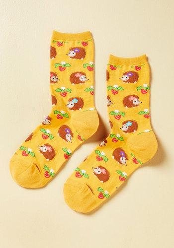 Livin' On the Hedgehog Socks