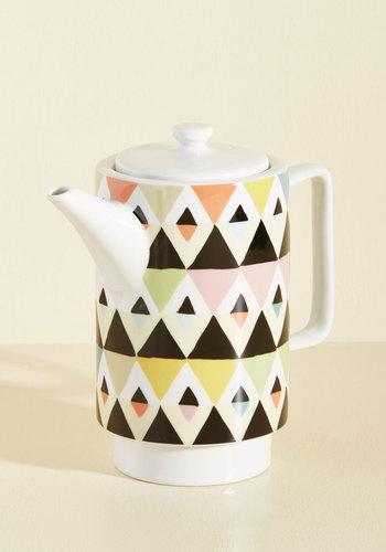 Appeals to My Palette Tea Pot