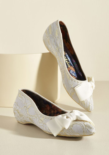Victorian Boots & Shoes Of Novella Proportions Lace Flat $123.99 AT vintagedancer.com