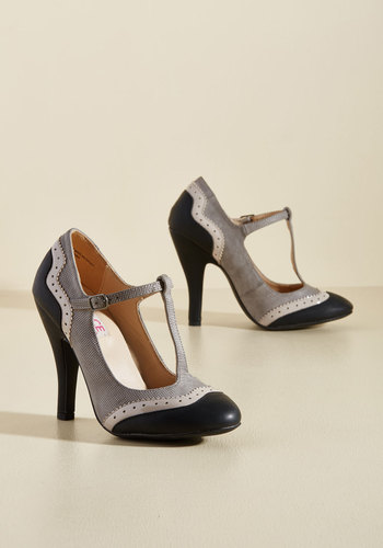 Retro & Vintage Style Shoes Accomplished Visionary Heel $49.99 AT vintagedancer.com