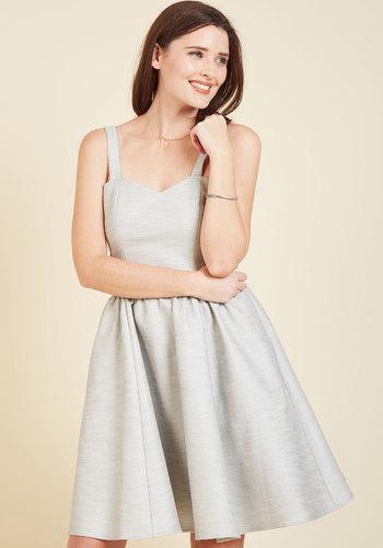 Torino at Twilight A-Line Dress - Woven, Mid-length