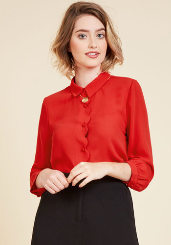 1950s Rockabilly & Pinup Tops, Shirts, Blouses Divergent Dynamism Long Sleeve Top $44.99 AT vintagedancer.com