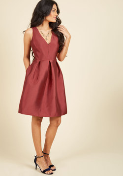 Elegance by Request Fit and Flare Dress